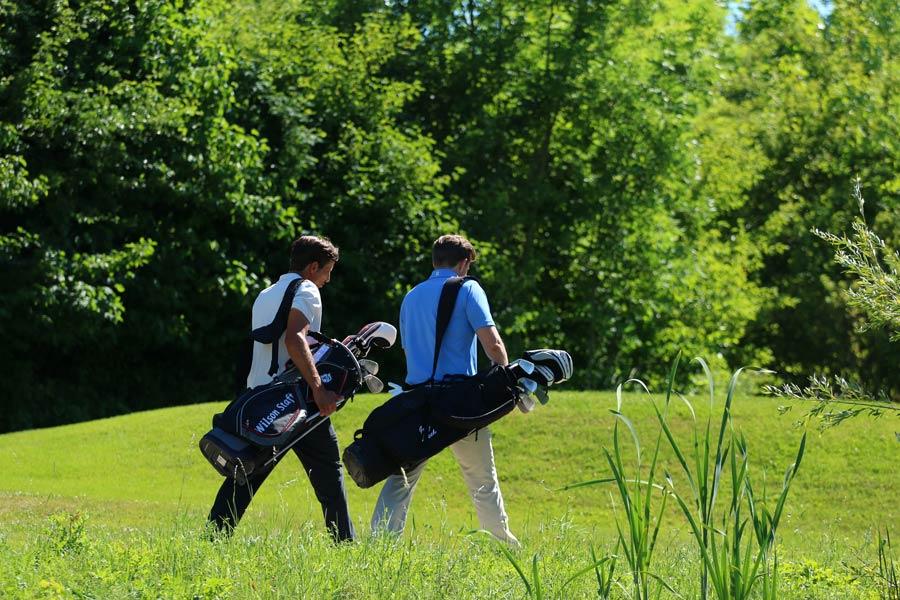 Golfer auf dem Platz