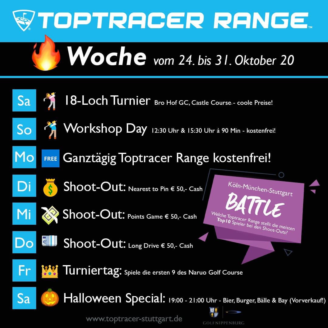 Toptracer Week Golf Nippenburg